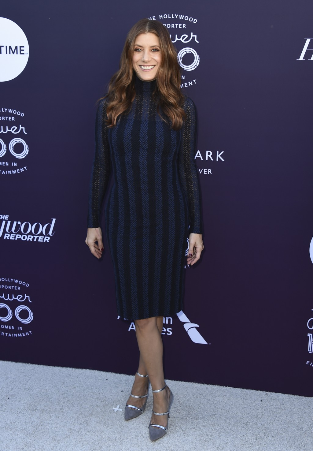 Kate Walsh arrives at The Hollywood Reporter's Women in Entertainment Breakfast at Milk Studios on Wednesday, Dec. 6, 2017, in Los Angeles. (Photo by