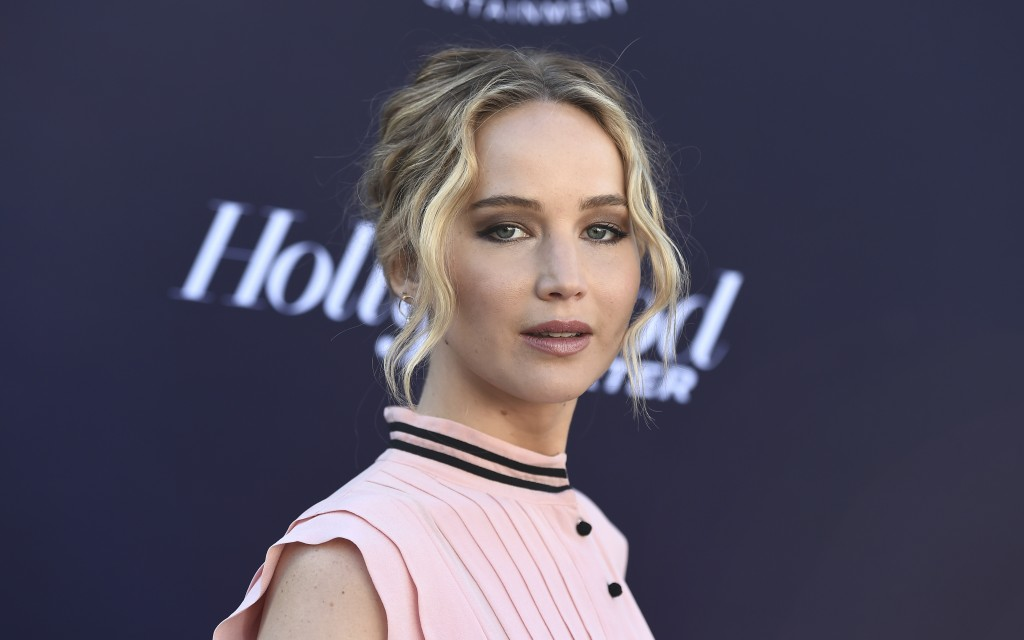 Jennifer Lawrence arrives at The Hollywood Reporter's Women in Entertainment Breakfast at Milk Studios on Wednesday, Dec. 6, 2017, in Los Angeles. (Ph