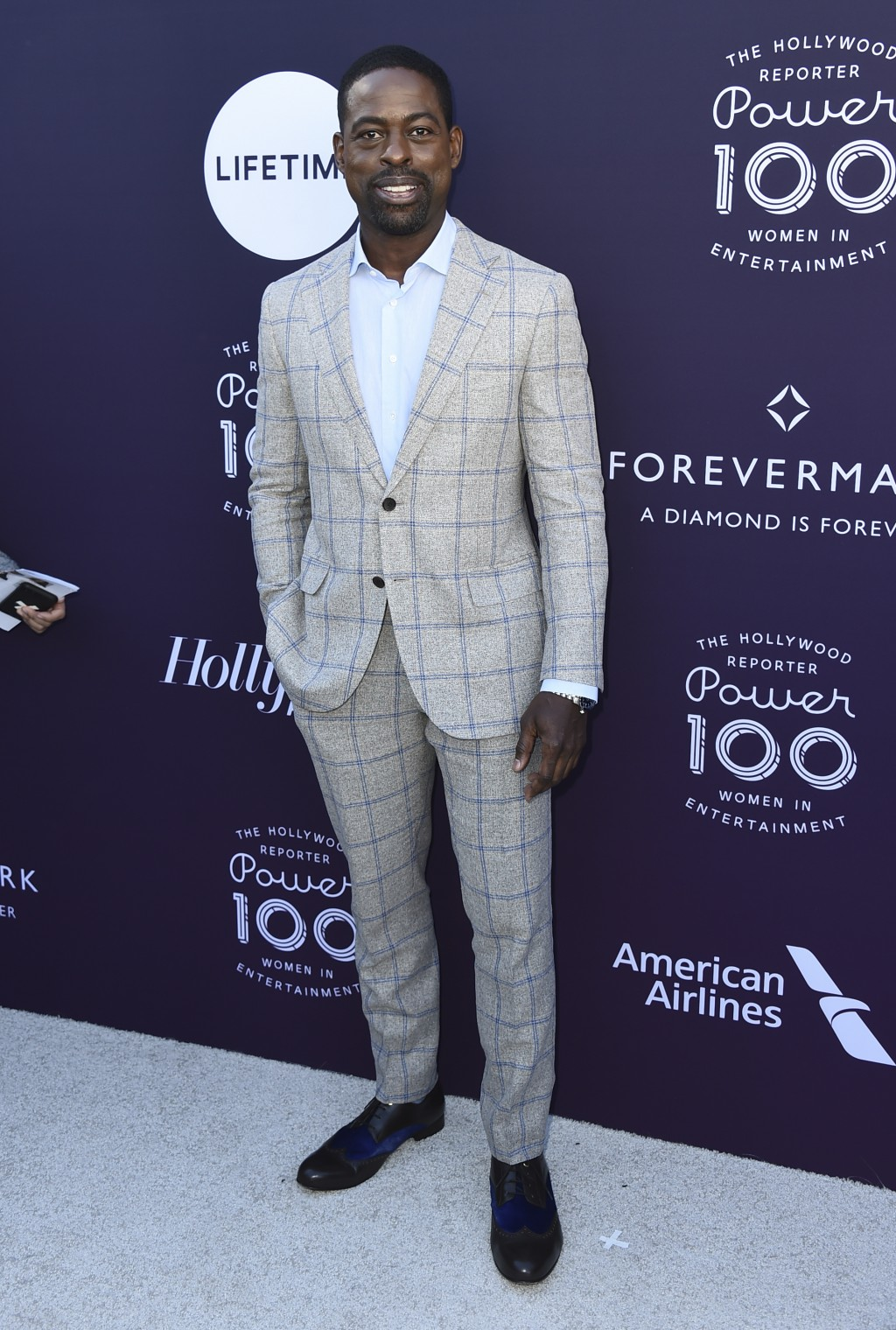 Sterling K. Brown arrives at The Hollywood Reporter's Women in Entertainment Breakfast at Milk Studios on Wednesday, Dec. 6, 2017, in Los Angeles. (Ph