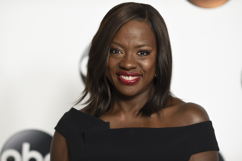 FILE - In this Sunday, Aug. 6, 2017, file photo, Viola Davis attends the Disney ABC Television Critics Association 2017 Summer Press Tour at the Bever