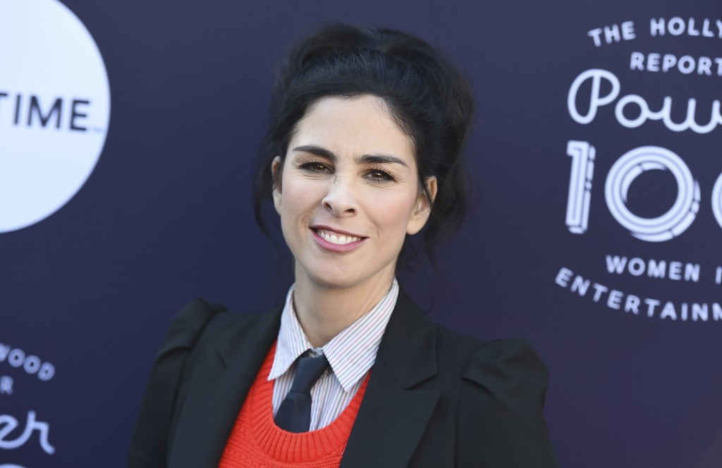 Sarah Silverman arrives at The Hollywood Reporter's Women in Entertainment Breakfast at Milk Studios on Wednesday, Dec. 6, 2017, in Los Angeles. (Phot