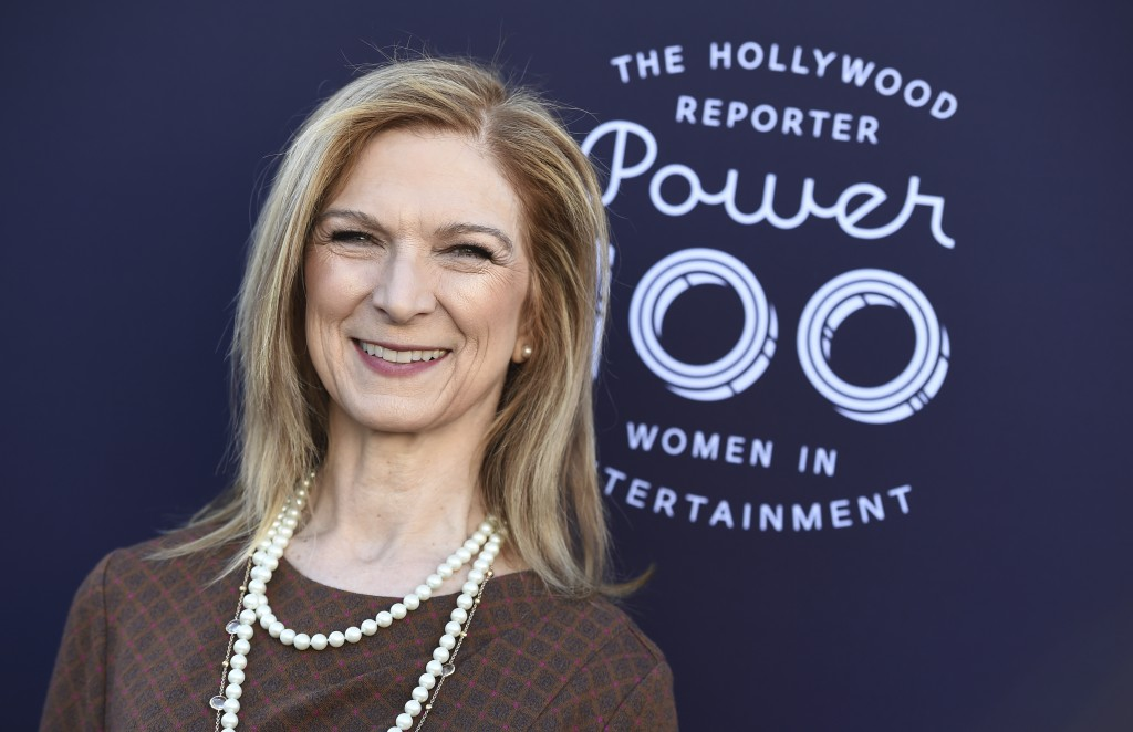 Dawn Hudson arrives at The Hollywood Reporter's Women in Entertainment Breakfast at Milk Studios on Wednesday, Dec. 6, 2017, in Los Angeles. (Photo by