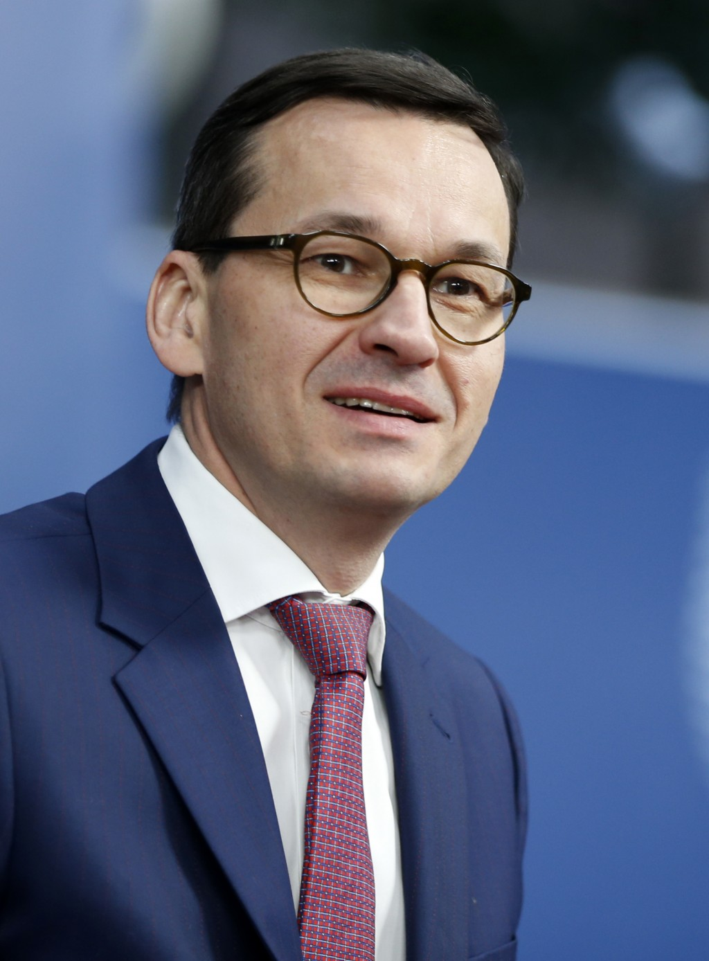 Polish Prime Minister Mateusz Morawiecki arrives for an EU summit at the Europa building in Brussels on Thursday, Dec. 14, 2017. European Union leader...