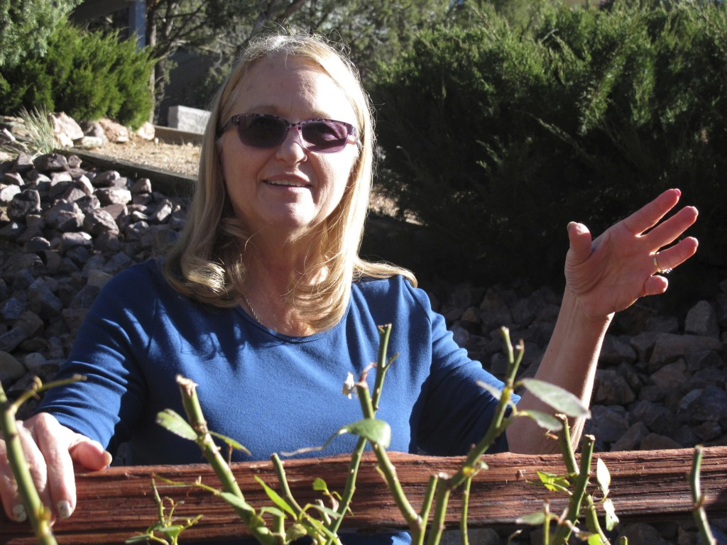 In this Dec. 15, 2017 photo, Debbie Neckel poses at her home. Neckel was the lead detective in a 2008 case in St. Johns, Arizona, where an 8-year-old ...