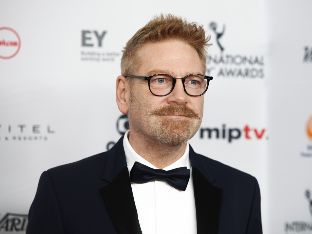 CORRECTS NAME OF CHARACTER TO DETECTIVE HERCULE POIROT FROM DETECTIVE HERCULES POIROT - FILE - In this Nov. 20, 2017, file photo, Kenneth Branagh atte...
