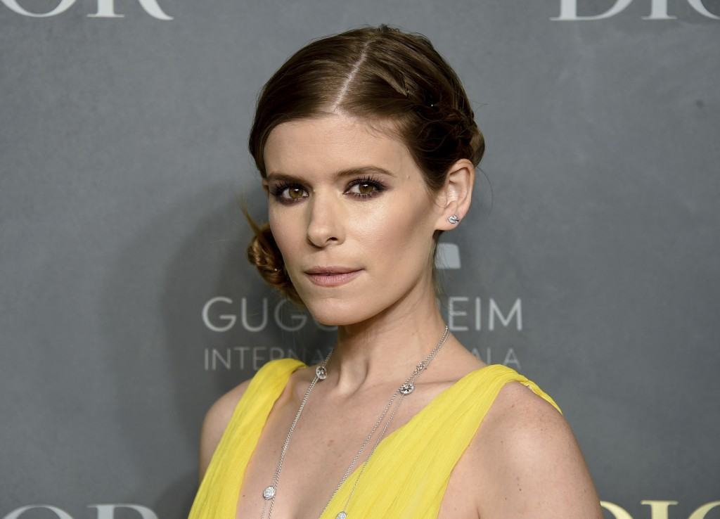 FILE - In this Nov. 16, 2017, file photo, actress Kate Mara attends the 2017 Guggenheim International Gala, hosted by Dior, at the Guggenheim Museum i...