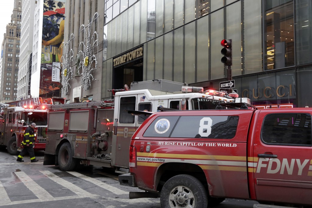 2 people injured in fire at Trump Tower in New York City