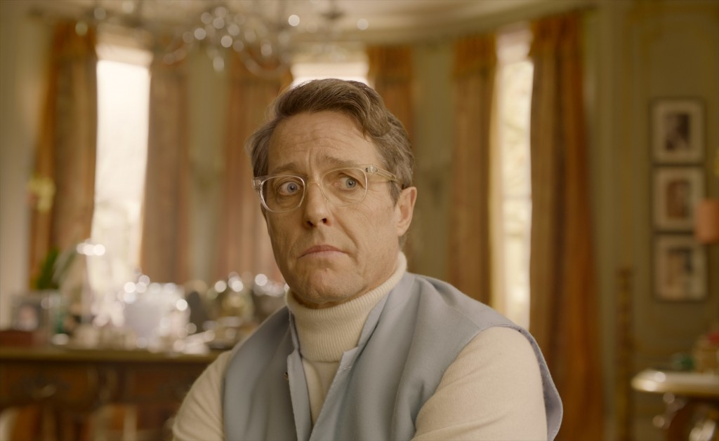 """This image released by Warner Bros. Pictures shows Hugh Grant in a scene from """" Paddington 2."""" (Warner Bros. Pictures via AP)"""