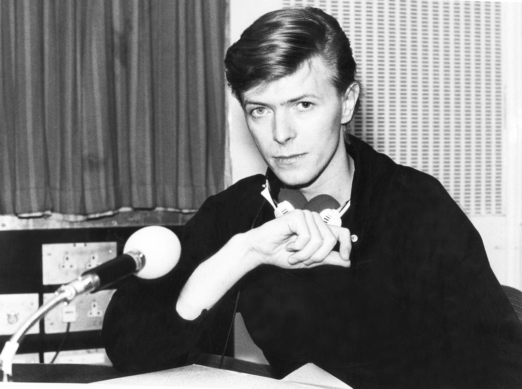 """This image released by HBO shows the late music legend David Bowie in a scene from the documentary, """"David Bowie:The Last Five Years,"""" which debuted J"""