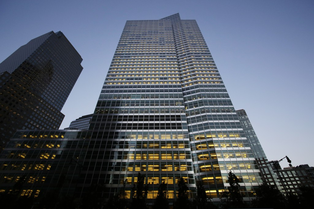 FILE - This Thursday, Oct. 15, 2015, file photo shows the Goldman Sachs headquarters in New York. Goldman Sachs will start offering home improvement l