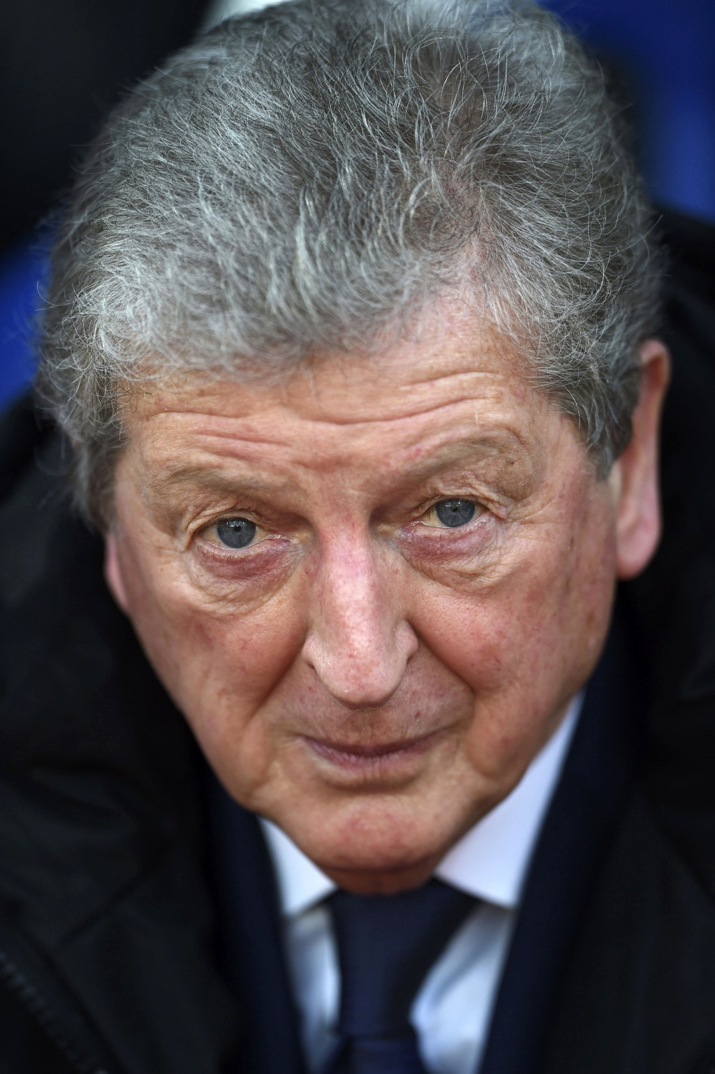 Crystal Palace manager Roy Hodgson before the English Premier League soccer match against Burnley at Selhurst Park, London, Saturday Jan. 13, 2018. (D