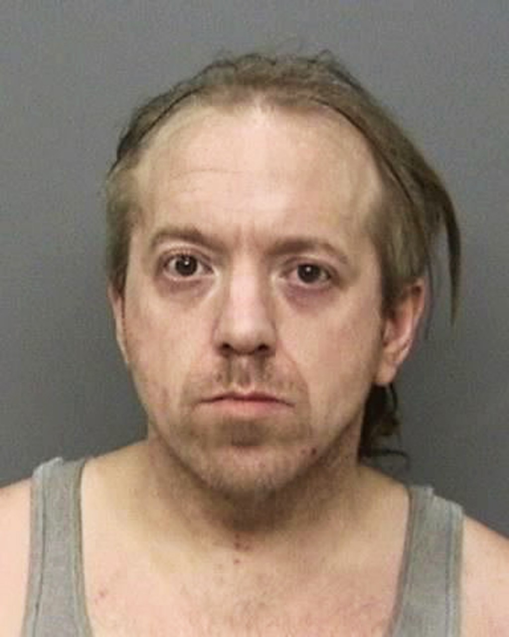 This undated booking photo provided by the Shasta County, Calif., Sheriff's Office shows Curtis Culver, 45, who was arrested after Brian Hawkins confe