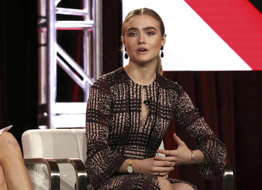 Maddie Hasson participates in the 'Impulse' panel during the YouTube Television Critics Association Winter Press Tour on Saturday, Jan. 13, 2018, in P