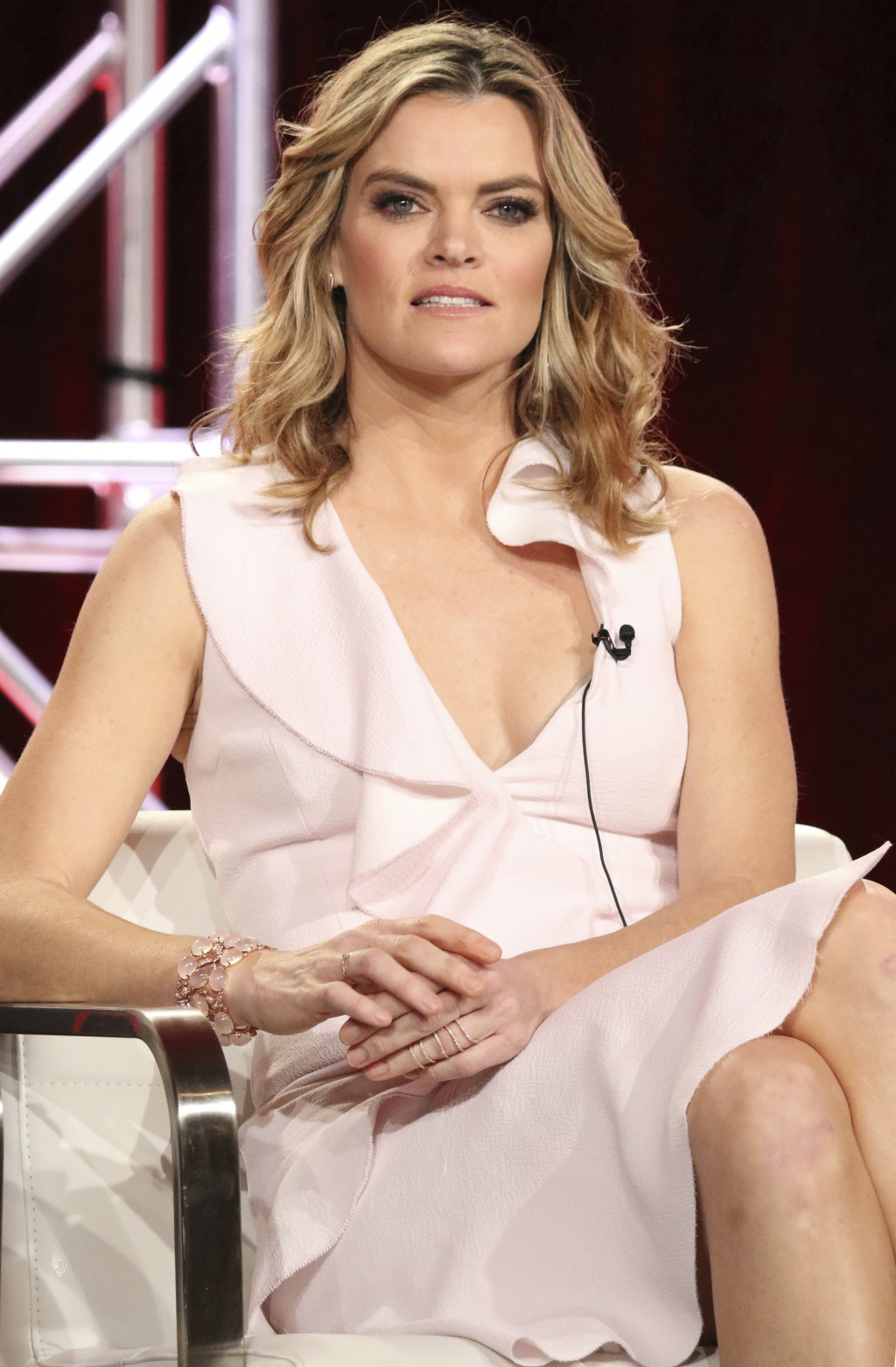 Missy Pyle participates in the 'Impulse' panel during the YouTube Television Critics Association Winter Press Tour on Saturday, Jan. 13, 2018, in Pasa