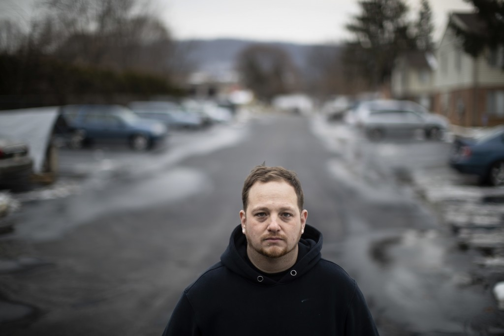 In this Wednesday, Jan. 10, 2018 photo Phil Gruver poses for a photograph in Emmaus, Pa. As gun-loving Pennsylvania becomes the latest state to operat