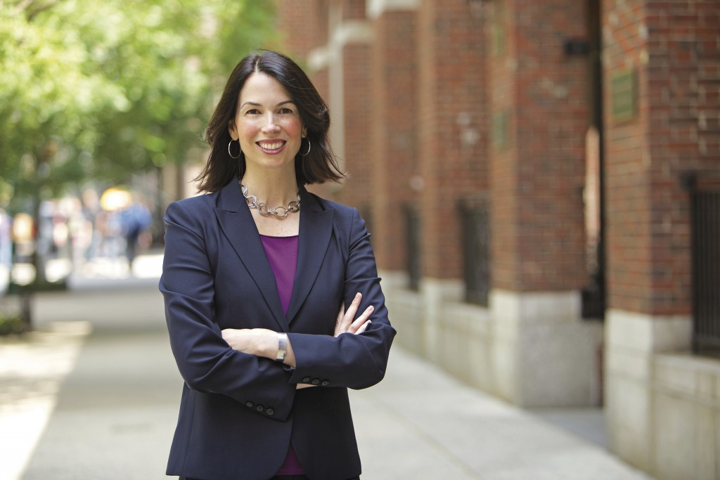 This photo provided by the New York University Photo Bureau shows Lily Batchelder, a law professor at NYU specializing in tax policy. Formerly an econ