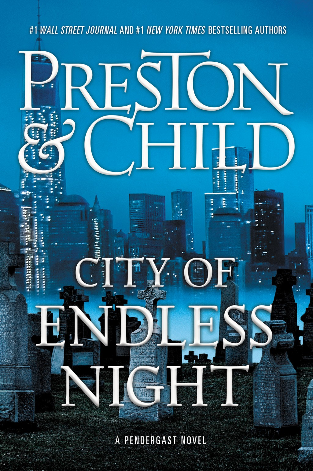 "This cover image released by Grand Central shows ""City of Endless Night,"" a novel by Douglas Preston & Lincoln Child. (Grand Central via AP)"