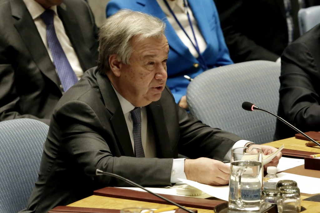 UN Chief Calls For Revival Of Syria Chemical Weapons Probe