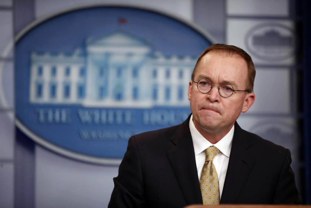 White House says it prepares for gov't shutdown