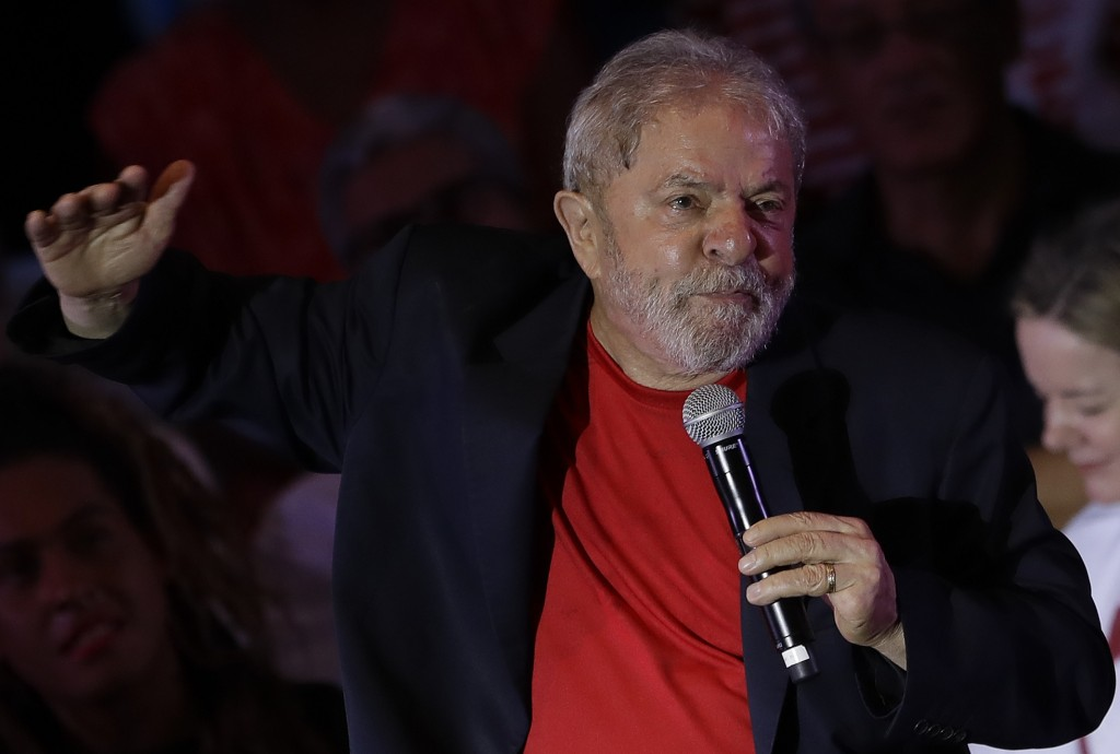 Hurdles in Brazil for Lula to get on 2018 poll