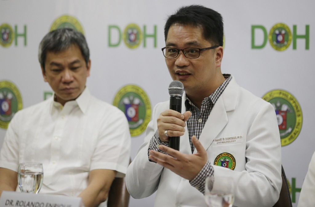 Philippines says anti-dengue vaccine could also be chargeable for three deaths