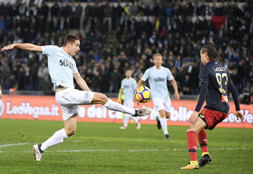 Laxalt stuns Lazio as Genoa ease drop fears with 2-1 win