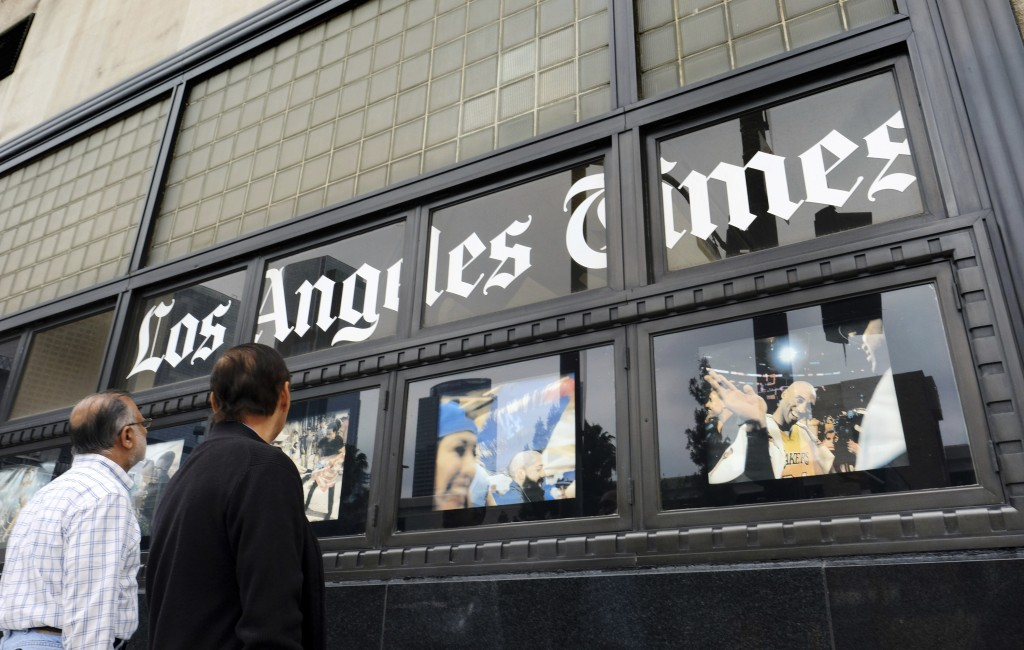Owner of Los Angeles Times to sell the paper