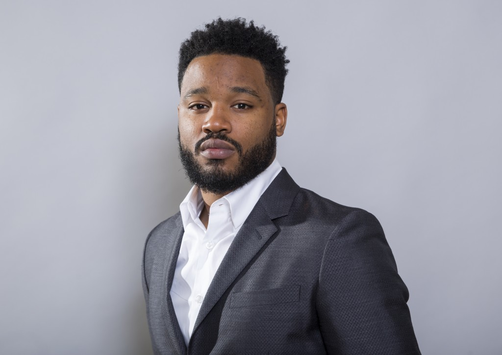 "In this Jan. 30, 2018 photo, filmmaker Ryan Coogler poses for a portrait at the ""Black Panther"" press junket at the Montage Beverly Hills in Beverly H"