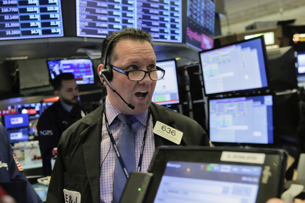 Stocks plunge, then mostly recover as wild ride continues
