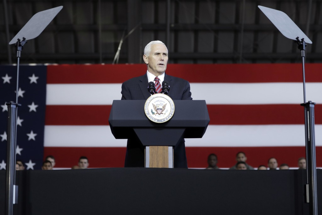 Pence says U.S. will roll out 'toughest' sanctions
