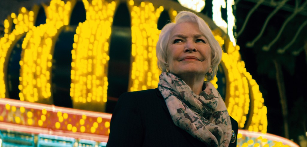 "This image released by Bleecker Street shows Ellen Burstyn in a scene from ""Nostalgia."" (Bleecker Street via AP)"