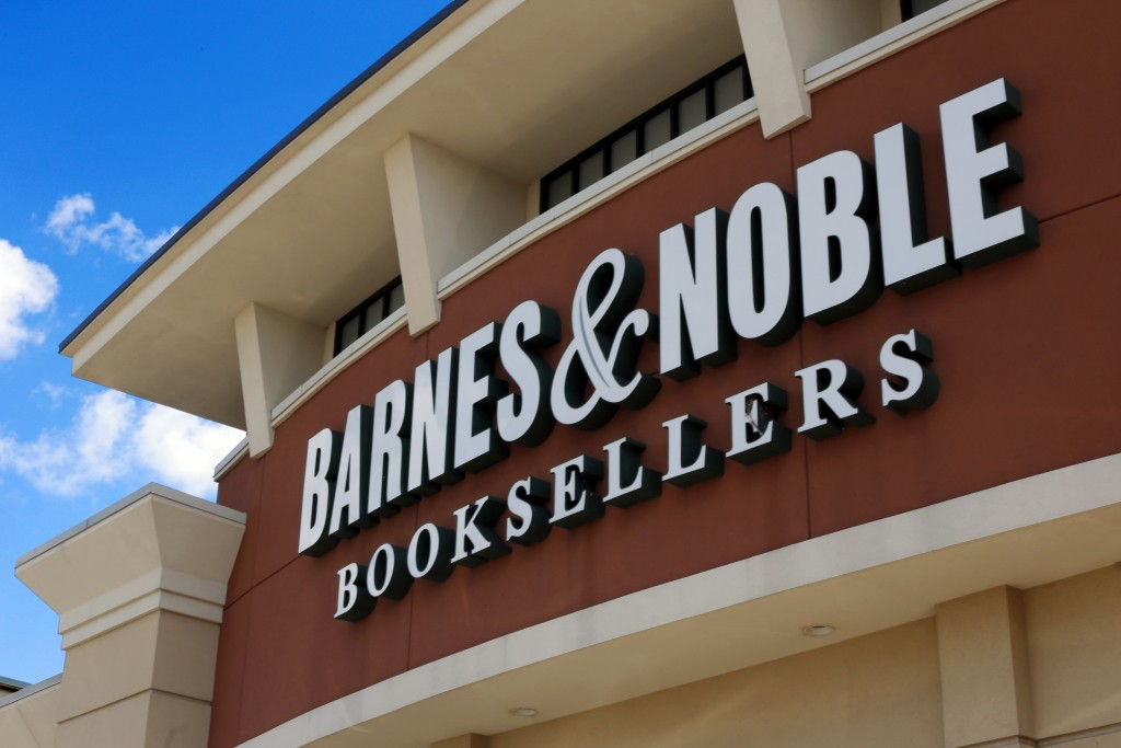 FILE - This Aug. 31, 2017 file photo, shows a Barnes and Noble Booksellers store in Pittsburgh. Barnes & Noble is pointing new staffing rules that wil
