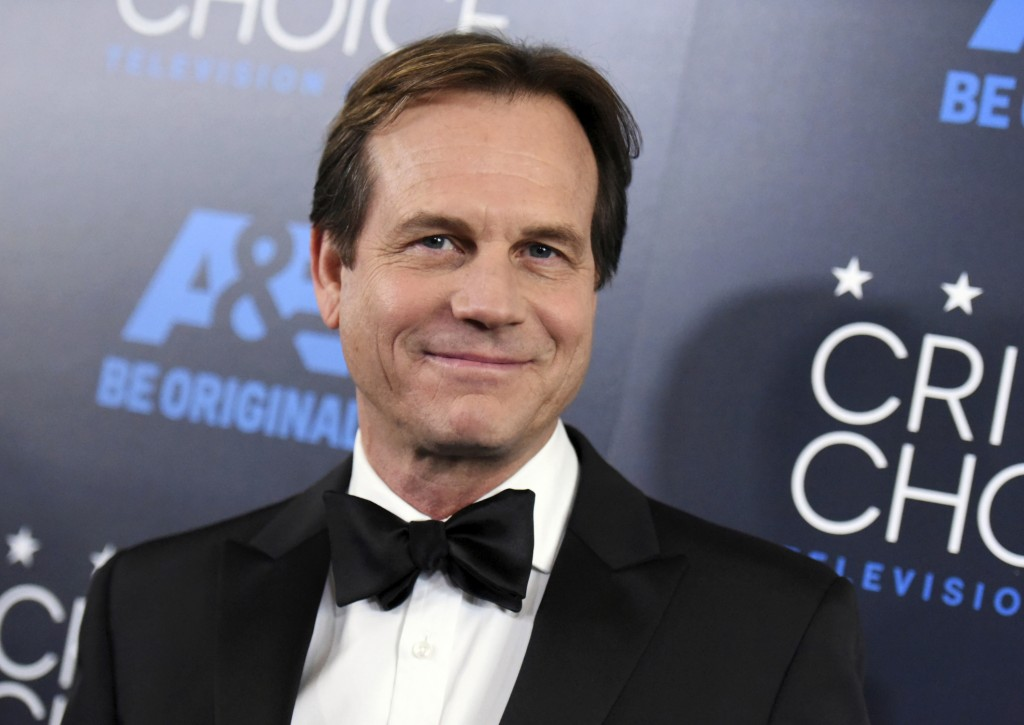 FILE - In this May 31, 2015 file photo, Bill Paxton arrives at the Critics' Choice Television Awards at the Beverly Hilton Hotel in Beverly Hills, Cal