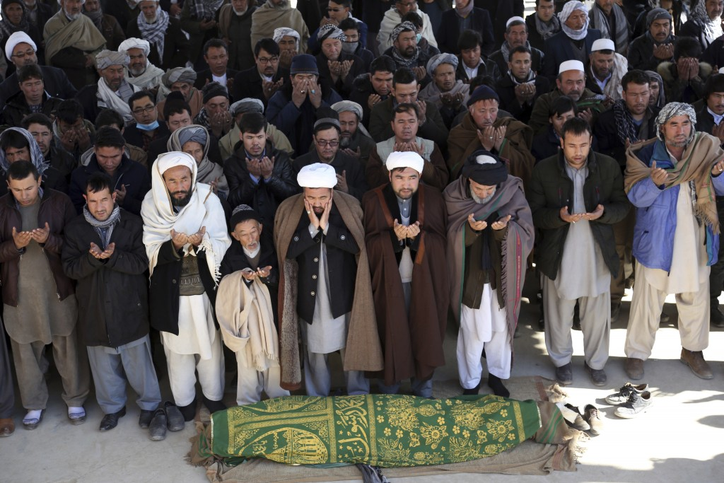 3438 civilians killed in Afghanistan a year ago