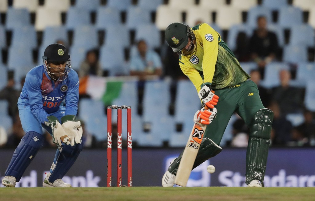 Klaasen, Duminy fifties help South Africa draw level