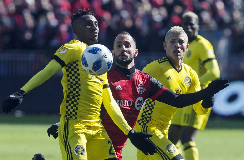 Crew Beat Defending Champion Toronto FC in MLS Opener