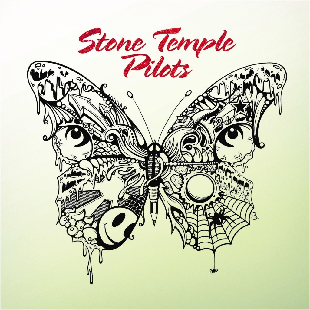 This cover image released by Rhino Records shows the self-titled album released by Stone Temple Pilots. (Rhino Records via AP)