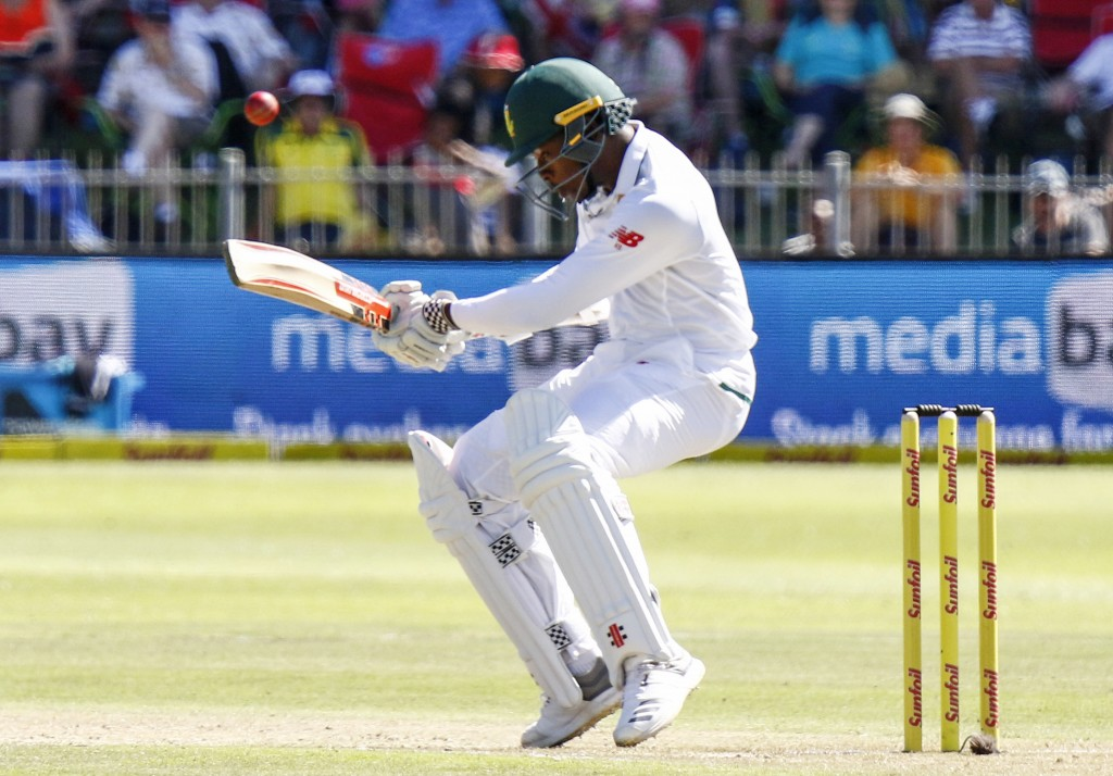 Warner, De Kock charged after stairwell clash