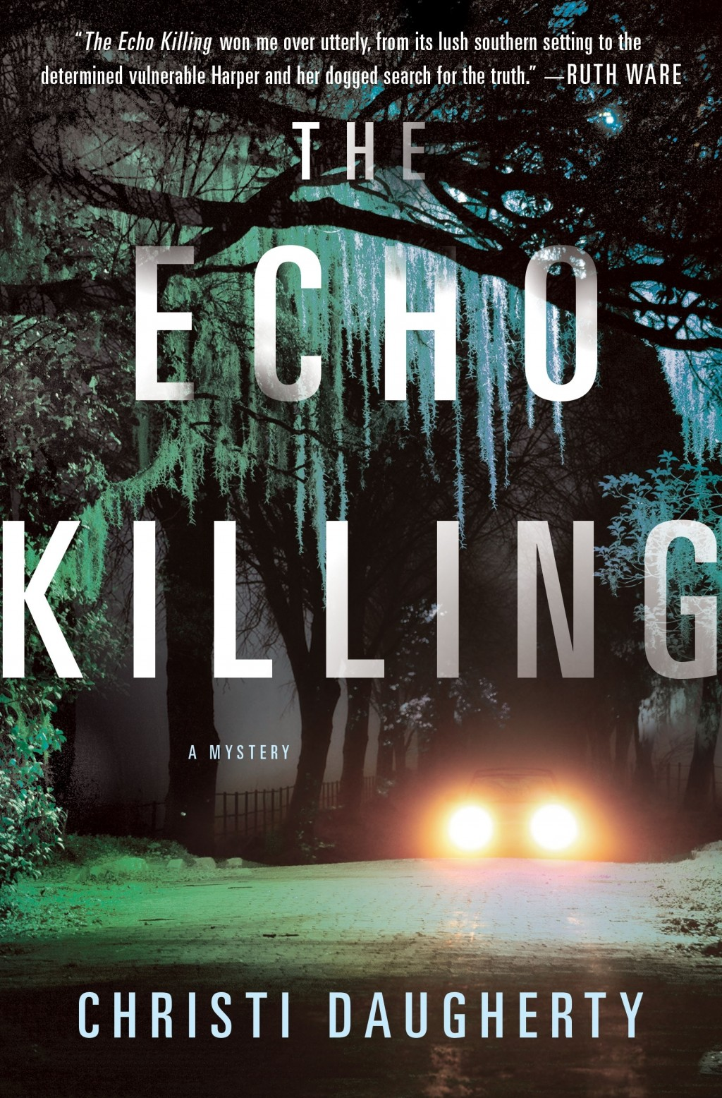 """This cover image released by St. Martin's Press shows """"The Echo Killing,"""" by Christi Daugherty. (St. Martin's Press via AP)"""
