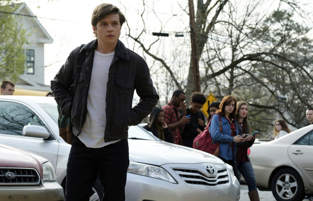 "This image released by Twentieth Century Fox shows Nick Robinson in ""Love, Simon."" (Ben Rothstein/Twentieth Century Fox via AP)"