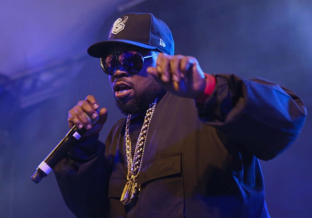 FILE - In this March 15, 2016 file photo, Big Boi performs at the South by Southwest Interactive Festival in Austin, Texas. The rapper has already lan