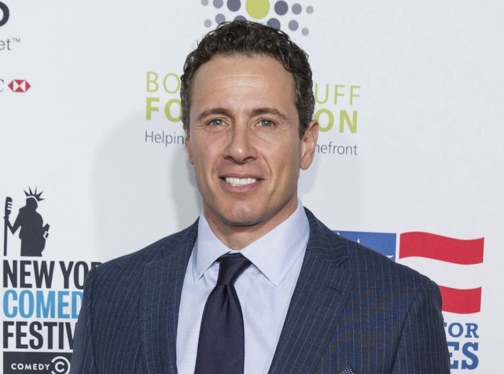 FILE - In this Nov. 10, 2015 file photo, Chris Cuomo arrives at the 9th Annual Stand Up For Heroes in New York. The network said Wednesday that they a