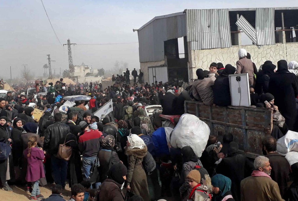 UNICEF ready for 50000 people exiting Syria's eastern Ghouta