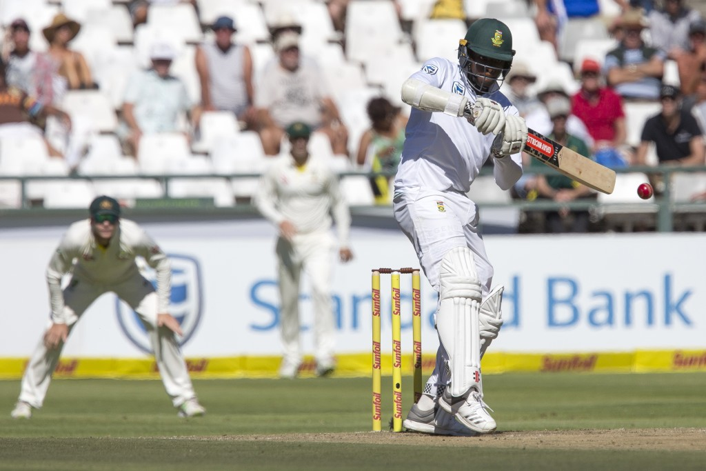 Rabada wins duel with Warner
