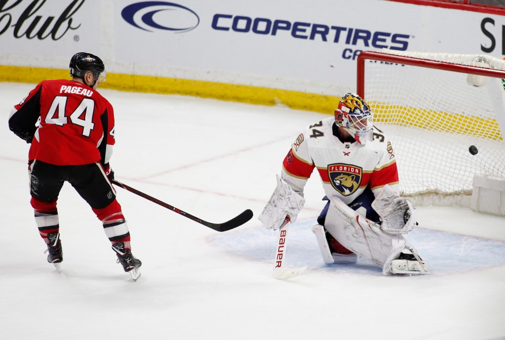 Senators down Panthers on overtime penalty shot