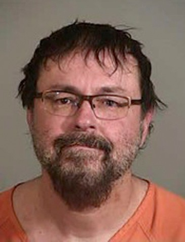 FILE - This April 20, 2017, file photo released by the Siskiyou County Sheriff's Office shows Tad Cummins. Cummins, an ex-Tennessee teacher who fled w...