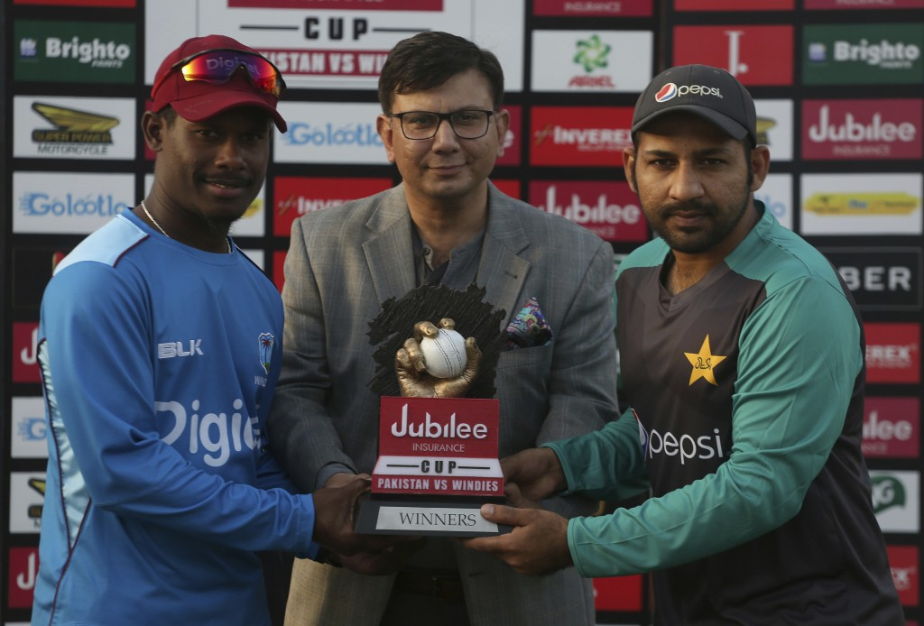 Logo for Pakistan-West Indies T20 series unveiled