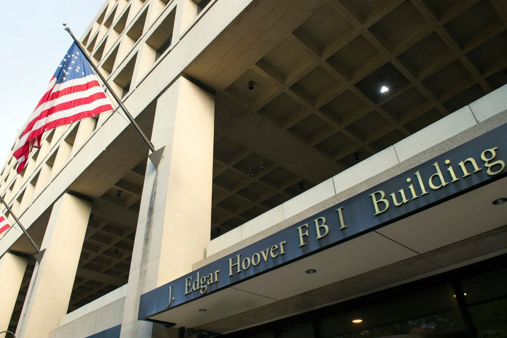FILE - In this Nov. 2, 2016, file photo, the FBI's J. Edgar Hoover headquarter building in Washington. An FBI terrorism investigation that concluded l...