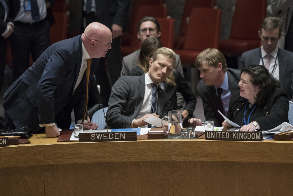 Russian Ambassador to the United Nations Vassily N...
