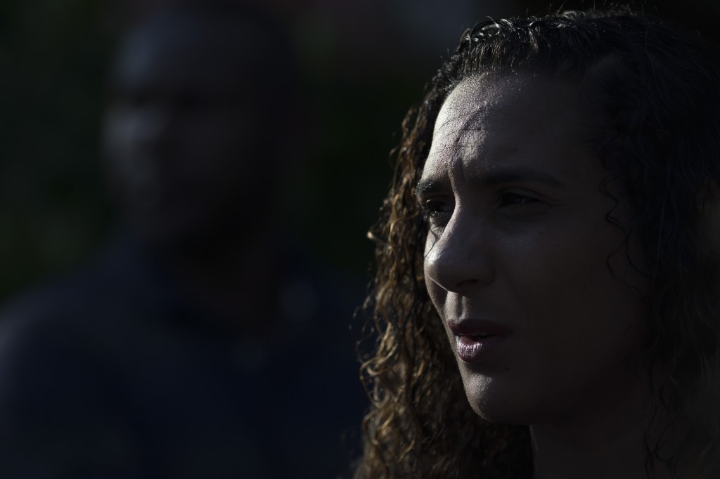 Anielle Franco attends memorial for her murdered sister councilwoman Marielle Franco and her driver Anderson Pedro Gomes, who both were killed a month